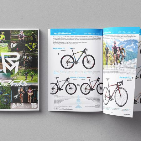 RockMachine - annual bike catalog