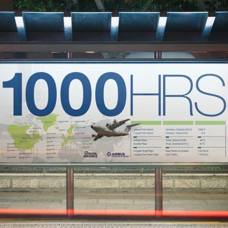 Airbus / RAF Milestone - Banner