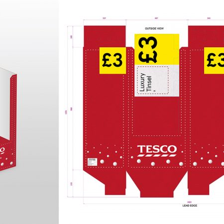 Tesco - FSDU Packaging