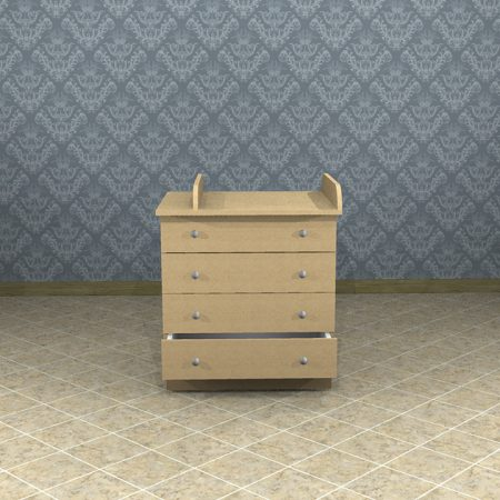 Drawers - SketchUp 3D