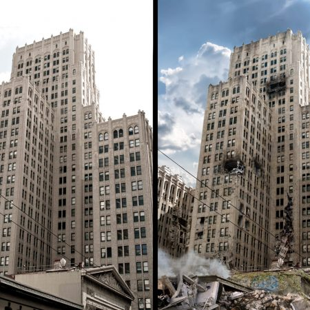 Matte Painting - Before / After